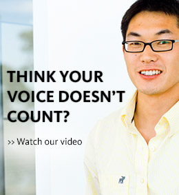 Think Your Voice Doesn't Count?